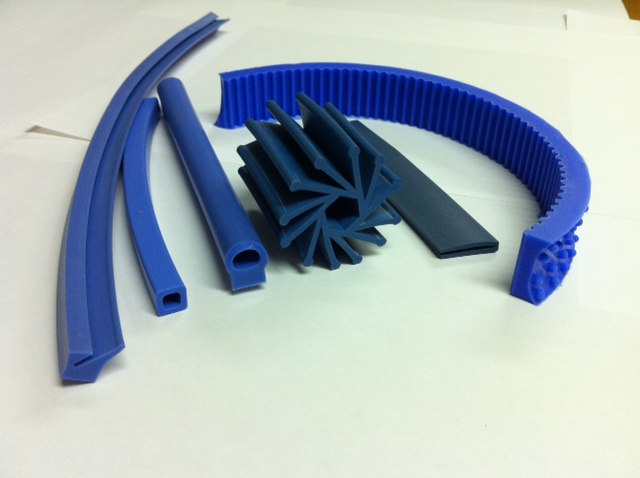 Metal Detectable Silicone Rubber And Sponge Gaskets Fda
