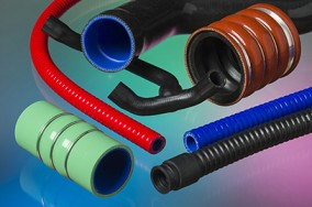 Reinforced Silicone Rubber Mouldings and Tube
