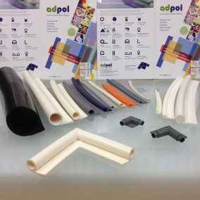 Silicone Rubber P Tape Extrusions