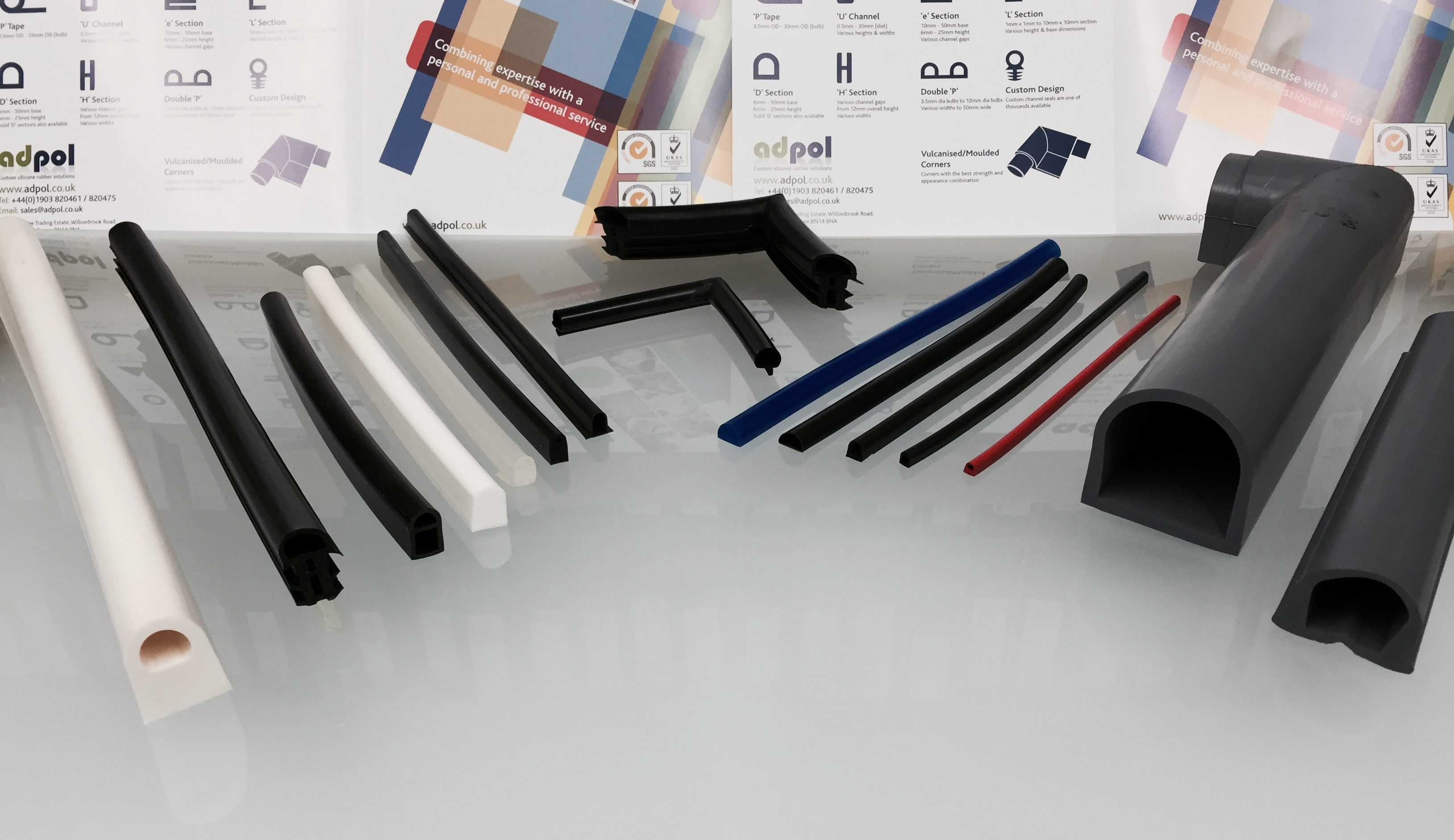 Rubber D Seal D Profile Extrusions Silicone Rubber